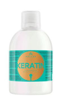 Kallos Cheratina Sampon cu cheratina si proteina din lapte, pentru par uscat, despicat si tratat chimic