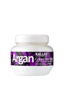 Kallos Tratament pentru stralucirea parului vopsit cu parfum de ulei de argan