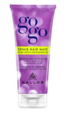 Mască de păr regenerant Gogo pentru par uscat, despicat si deteriorat