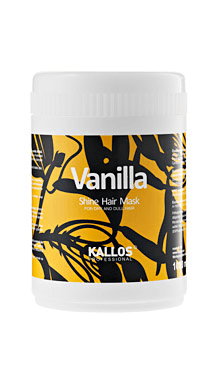 Tratament Kallos pentru strălucirea părului uscat şi mat, cu aromă de vanilie