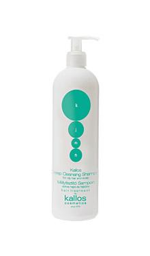 Kallos KJMN şampon pentru păr gras şi pielea capului