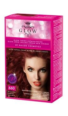 Kallos Glow vopsea cremă de păr de durată 660