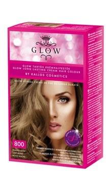 Kallos Glow vopsea cremă de păr de durată 800