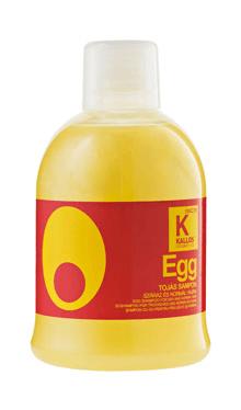 Kallos Şampon cu ou pentru păr uscat şi normal