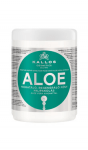 Kjmn Masca de par hidratant, regenerant cu extract de Aloe Vera, pentru par uscat, despicat