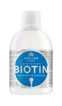 Kallos KJMN Biotin, sampon pentru infrumusetarea parului